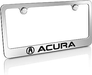 Acura Chrome Brass License Plate Frame