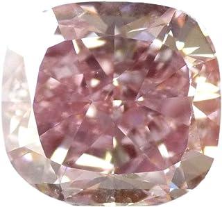 DirectDiam Real 5.09 Ct Loose Fancy Intense Pink Diamond, VS2 Cushion Diamond GIA Certified, for Jewelry