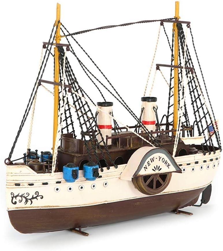 GPPZM Retro Vintage Max 74% OFF Handmade Wooden Model Sailboat New sales Boat Sailing