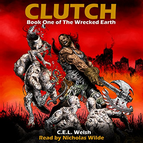 Clutch audiobook cover art