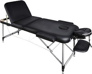 Naipo Tables de Massage 70*185cm Lit Cosmétique Pliante Aluminium Professionnel Portable Ergonomique Table Thérapie Haute ...