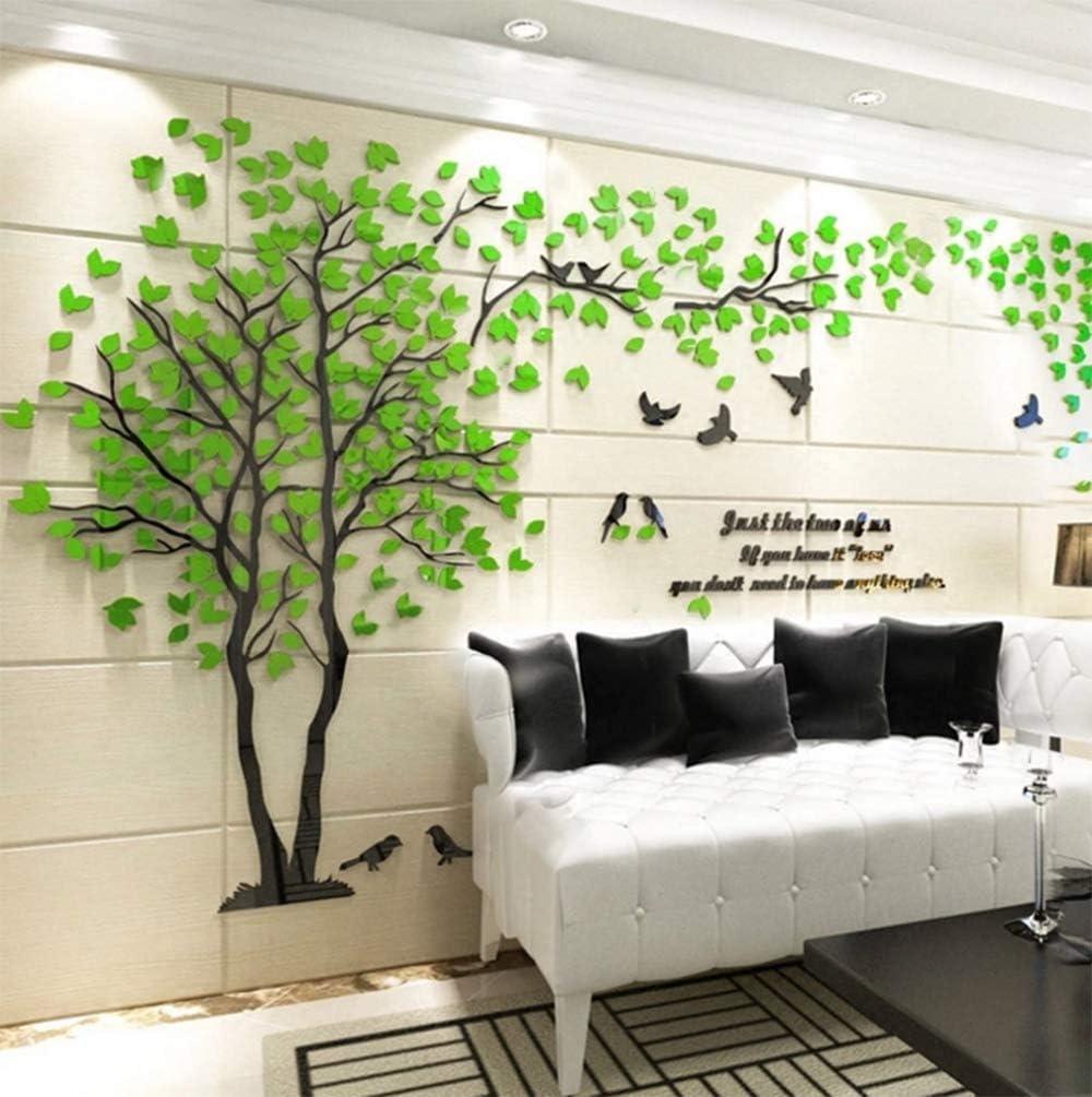 Amazon Hsunny ウォールステッカー 3d立体創造的な愛の木 ステッカー 女の子の部屋の壁のステッカー テレビの背景 壁紙 壁イラスト ウォールデコレーション ウォールペーパー 壁紙シール リビングルーム 立体 壁装飾 居間 寝室 多色 複数のサイズ ウォール
