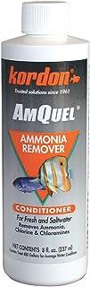 KORDON  #31248  AmQuel Ammonia Control  and Detoxifies Chloramine  for Aquarium, 8-Ounce