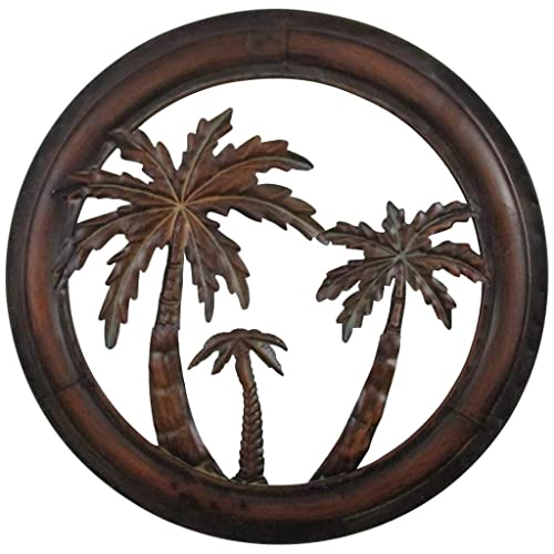 Under the Palm Tree Metal Wall Decor A Day in the Sun