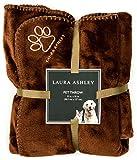 Laura Ashley Pet Throws - Chocolate
