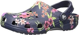 Crocs Women's Classic Printed Floral Clog