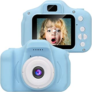 Camera for Kids, Digital Video Camera Toy, HD 2.0 inch IPS Auto Focus Mini Toddler Camera for Kids Aged 3 to 12, Boys Girl...