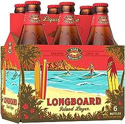 Kona Longboard Island Lager, 6 x 355ml