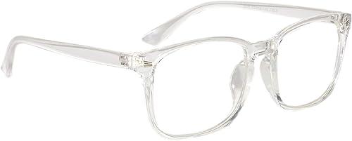 Anti Reflective Wayfarer Unisex Sunglasses NA101 56 White Color Lens
