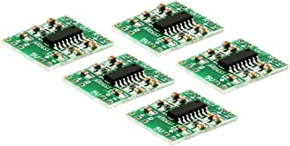 Ardess Digital USB Power Dual Channel DC 5V Stereo Amp Audio Amplifier Board Class D 23W Module for Boomboxes, Robots, Rad...