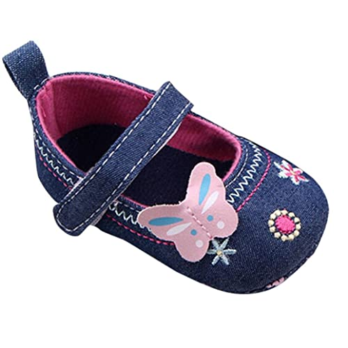 2011d4e5f1b Botrong Fashion Baby Shoes Butterfly Soft Sole Toddler Shoes