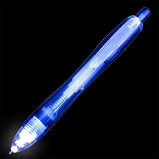 Blue Light Tip Pen with White LED (Set of 12)