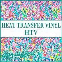 LP Inspired Rainbow Watercolor Pattern #1 Heat Transfer Vinyl 12