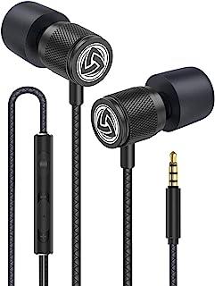 comprar comparacion LUDOS Ultra Auriculares con Micrófono y Cable, Máxima Comodidad, Sonido Cristalino, Agudos y Graves Equilibrados, Nueva Es...