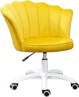 Sillas De Escritorio De Oficina, Sillas de oficina giratorias, lindas sillas de escritorio modernas terciopelo tuft tufted oficina de oficina de oficina tapizados sillas de tarea giratorias ajustables