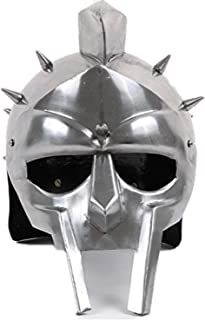 Mythrojan Gladiator Armor Steel Helmet (Without Liner) 20g – Polished Finish
