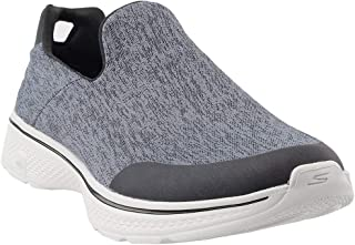 Skechers Go Walk 4- Tidal Shoes For Men43 EU, Charcoal & Black