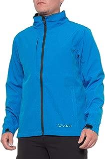Spyder Men's Elevation Softshell Fleece Lined Jacket   Medium   Blue