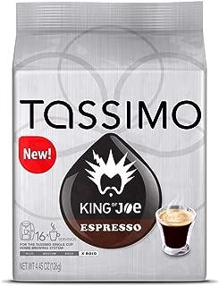 Tassimo King Of Joe Espresso Roast, 16 Count (Pack Of 2)