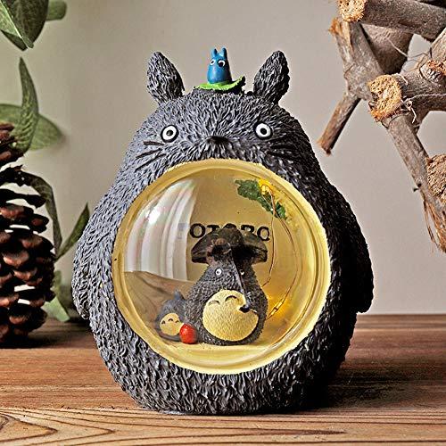 Gaocunh Totoro Lámpara LED Luz de Noche, Luz de Mesa para niños, para niños Niña Regalos Luz de Lectura de Dormitorio.