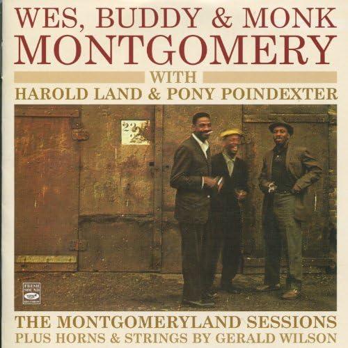 ウェス・モンゴメリー, バディ・モンゴメリー, Monk Montgomery, ハロルド・ランド & ポニー・ポインデクスター