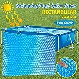 Cubierta redonda para piscina, cubierta para piscina rectangular, cubierta solar...