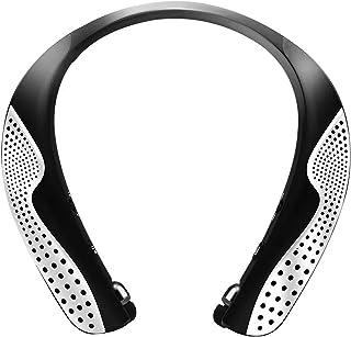 ネックスピーカー 2in1式イヤホン Bluetooth5.0接続 【 2021進化版・最大30時間連続再生可能】首掛け スピーカー 伸縮自在のイヤホン付き ワイヤレス ウェアラブル ポータブルスピーカー ハンズフリー ノイズキャンセリング 3...
