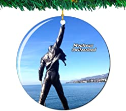 freddie mercury christmas ornament