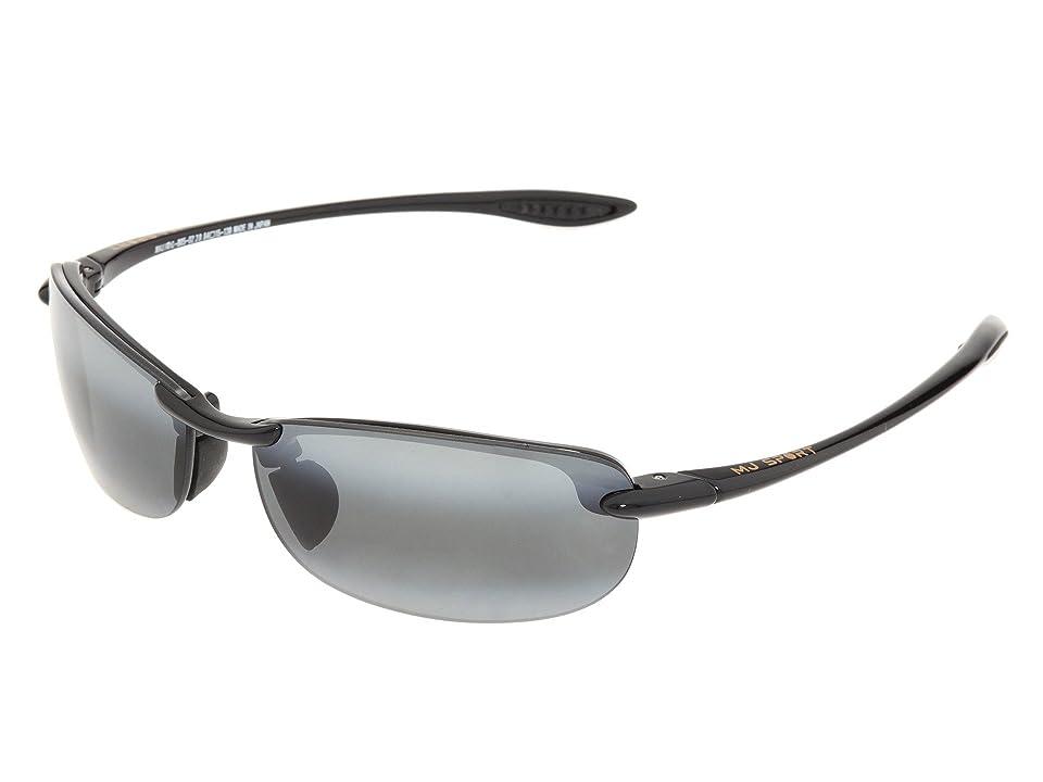 Maui Jim Makaha Readers (Gloss Black/Neutral Grey Lens/2.0 Lens) Reading Glasses Sunglasses
