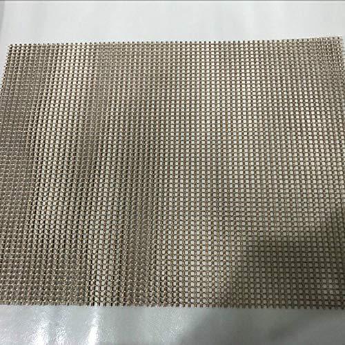 3 Stück Von 40 × 30cm Hohe Temperatur Beständig Teflon Grid Grill Matte, Wiederverwendbare, Leicht Zu Reinigen, Verwendet Für Grill, Gemüse, Kochen, Backen.