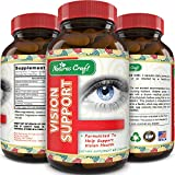 Natures Craft's Lutein Pills for Healthier Eyes – Improve Vision and Clarity...