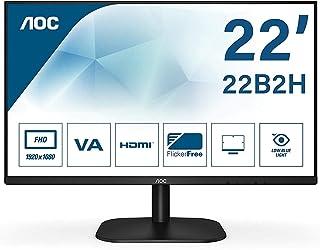 AOC 22B2H 22 Inches Widescreen IPS LED Black Monitor (1920x1080/8ms/VGA/HDMI)