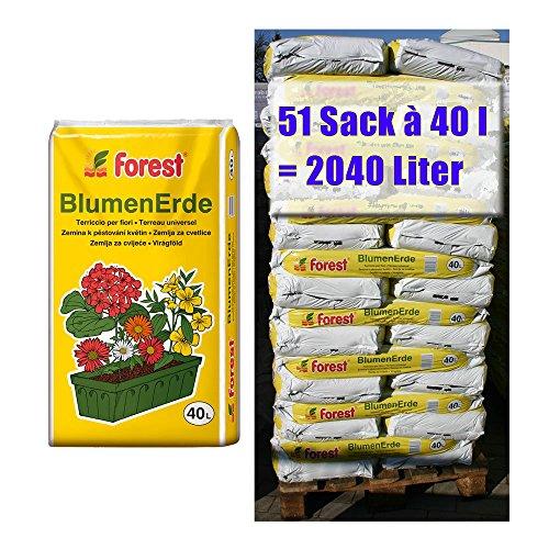 FOREST -  Blumenerde  51 Sack