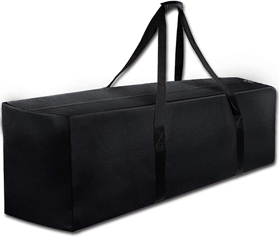 47 Sports Duffle Bag - Extra Large Travel Duffel Luggage Bag with Upgrade Zipper, Durable & Water Resistant, Black