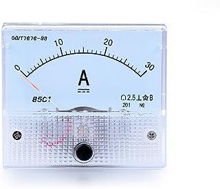 Atoplee 1pcs DC 0-30 A 85C1 Ampmeter Analog AMP Current Panel Built-in shunt Function 2 in 1 Current Ammeter Gauge