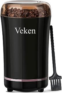 Veken Coffee Grinder Electric Spice & Nut Grinder with Stainless Steel Blade,..