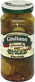 Good Culture Giuliano Pickle Dill Hot Jalapeno, 16 oz