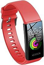 Sports Smart Bracelet Smart Reminders Health Monitoring Information Push Exercise Tracking Sleep Analysis (Red)