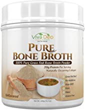 Viva Deo,YouAlreadyKnow Grass Fed Bone Broth Protein Powder | Antibiotic & Hormone Free | Tasteless Keto Diet Paleo Protein Powder w/Naturally Occurring Collagen Glucosamine & 19