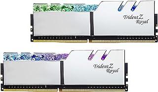 G.Skill DDR4メモリ TridentZ Royalシリーズ DDR4-3600 32GBKit(16GB×2枚組)国内正規品 特典ステッカー付き F4-3600C18D-32GTRS