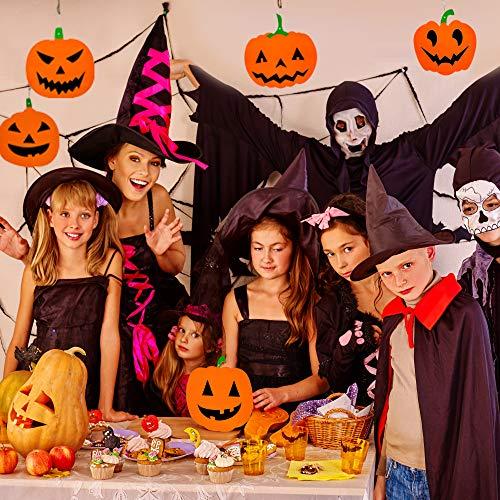 THE TWIDDLERS 18 Decorazioni a Spirale con zucche Pendenti - Perfette Come Decorazioni nelle Feste di Halloween