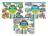 Melissa & Doug Coloring Pad Bundle: Animals, Vehicles and Multi-Theme