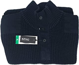 Men's 1/4 Snap Zip Collared Sweater