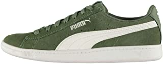Official Puma Vikky Trainers Womens Green Athleisure Sneakers Shoes Footwear
