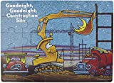 Goodnight, Goodnight, Construction Site 25 Piece Wood Jigsaw Puzzle, 15.75'