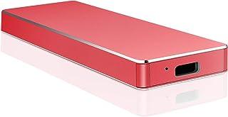 ポータブルHDD 外付け そと付けハードディスク ハードディス ポータブルハードディスク (Red,1TB)
