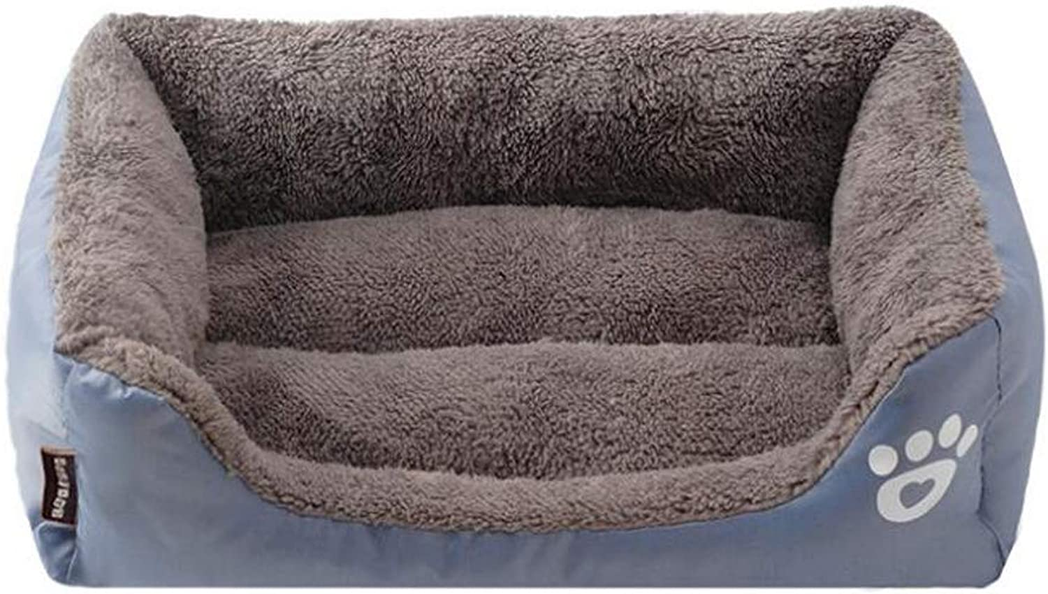 Kennel Cat Sofa Bed Warm Autumn and Winter Candy color Pet Nest Sofa Bed Cat Litter Kennel,A,S