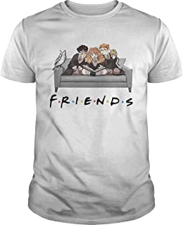 New Collection T shirt for Woman, Man anniversary Harry Potter Friends TV Show shirt