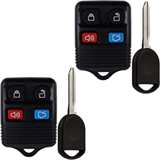Car Key Fob Keyless Entry Remote for Ford Mustang Focus Expedition Explorer Taurus Fusion Escape CWTWB1U345, GQ43VT11T CWT... photo