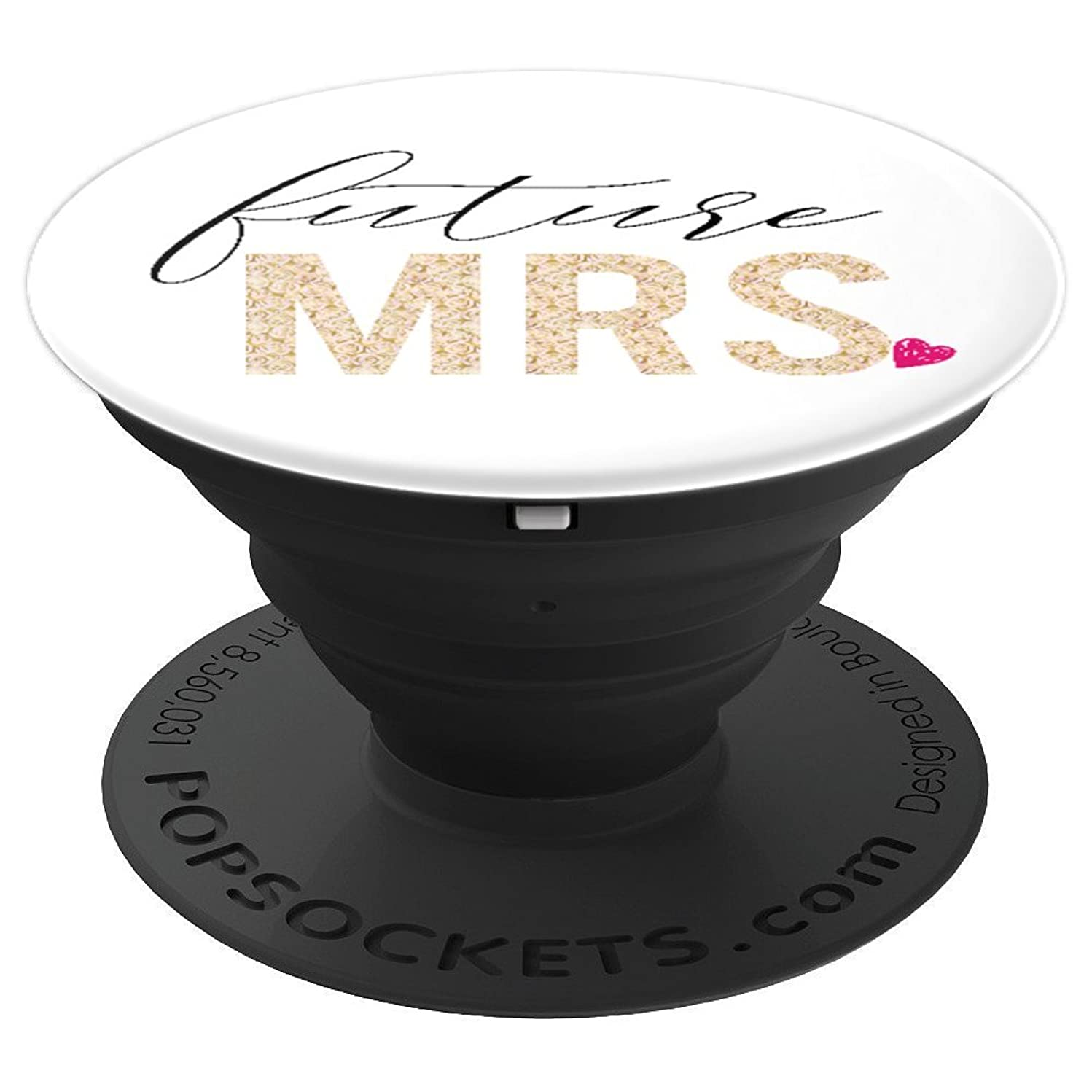 Future Mrs Engagement Gift For Bride - PopSockets Grip and Stand for Phones and Tablets